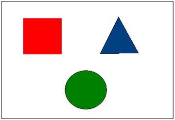 конспекты занятия знакомство с геометрическими фигурами